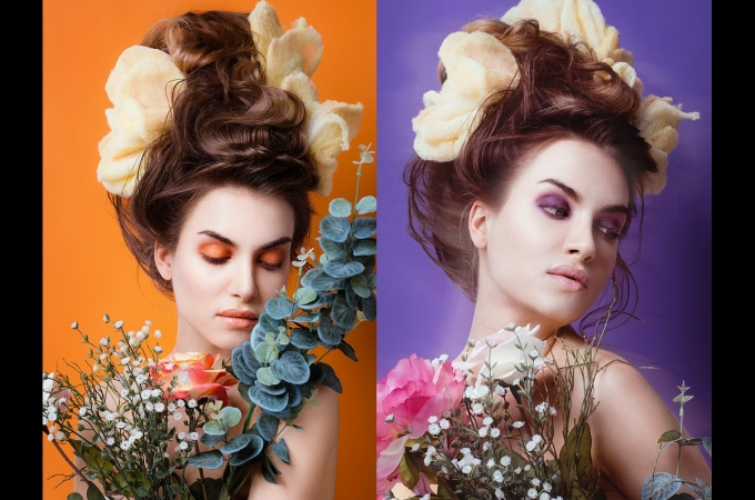 hair, makeup & hairpieces: promakeupart, photo: Lynn Theisen